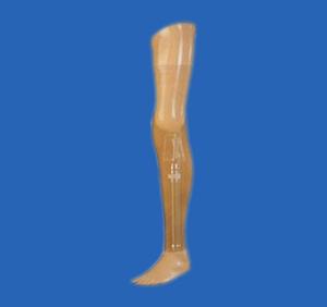 膝离断假肢